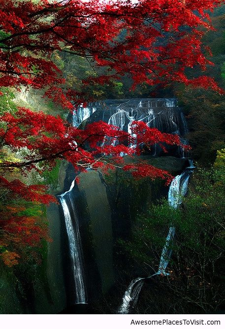 Fukuroda Falls In Japan Awesome Place To Image 784382 By Imfunny On
