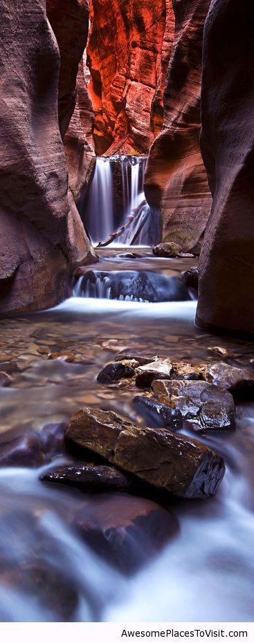 Upper Kanarra Falls Utah Awesome Place To Image 785589 By Imfunny On