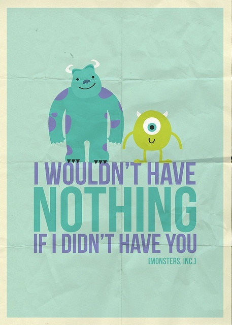 Quotes About Friendship In Disney Movies : Chocapic via tumblr image by speen on favim