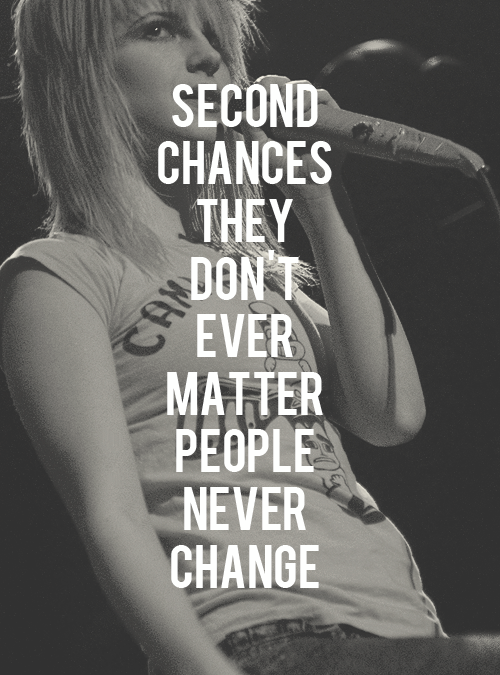 misery business | Tumblr - image #785644 by alroz on Favim.com Paramore Misery Business Lyrics