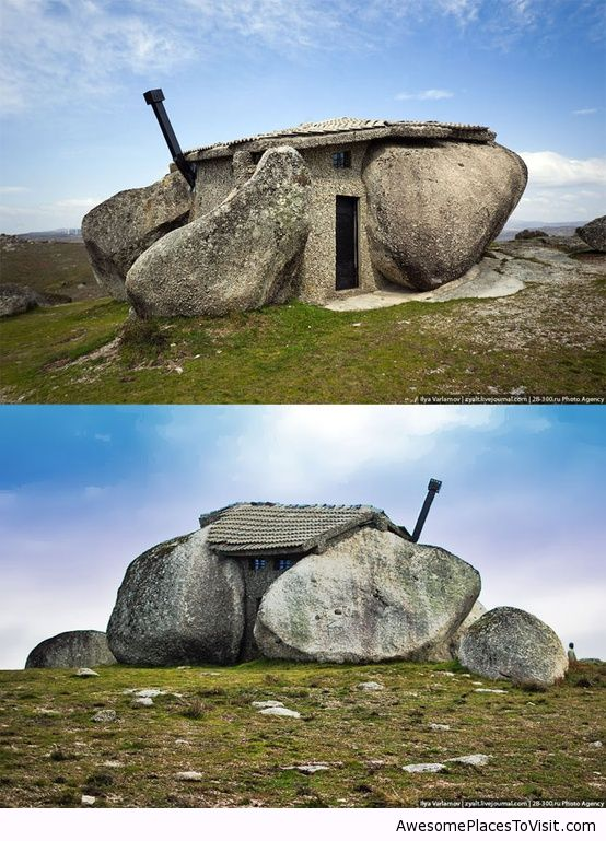 Stone House In Portugal Awesome Place To Image 787133 By Imfunny On