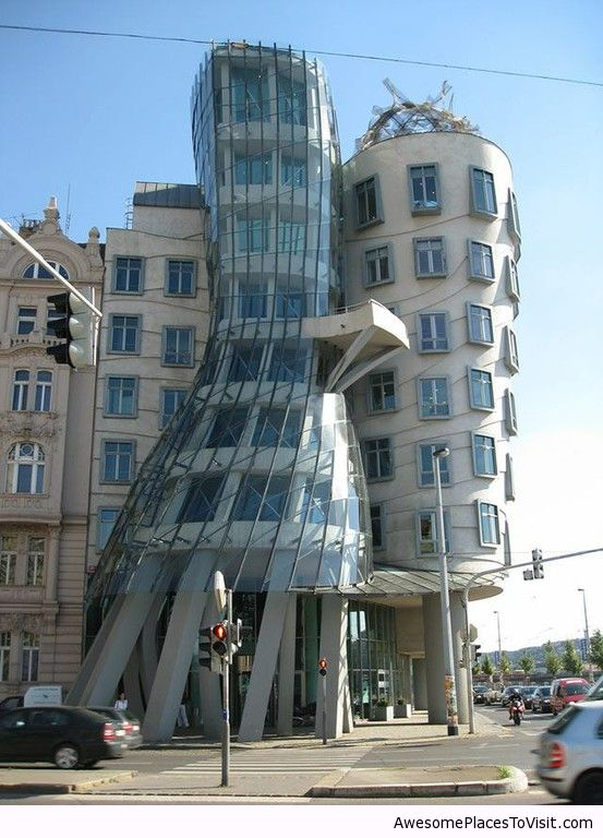 Dancing Building Czech Republic Awesome Place To Image 787134 By Imfunny On