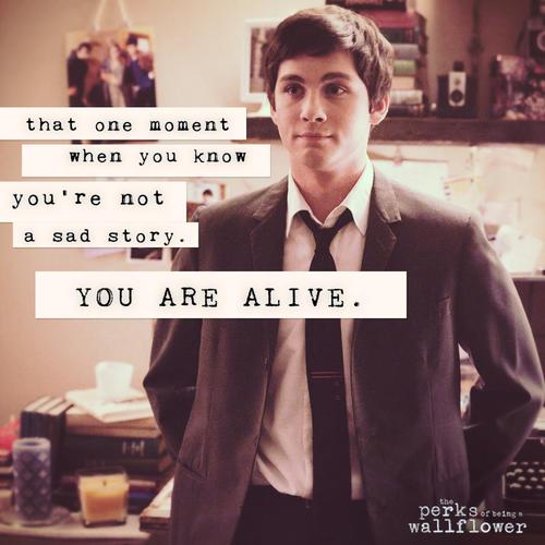 Sad Quotes From Perks Of Being A Wallflower Quotesgram