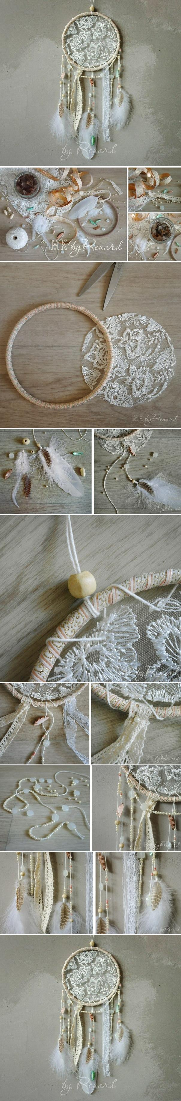 Diy simple dreamcatcher diy projects usefuldiycom for Easy homemade dream catchers