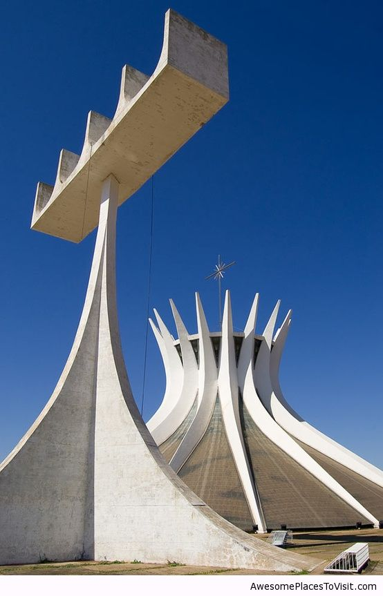 Brasilia Cathedral Brazil Awesome Place To Visit Image 789209 By Imfunny On