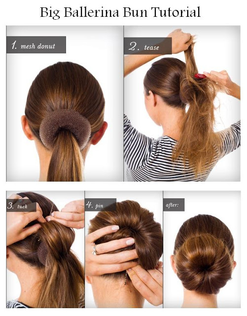 Diy big ballerina bun hairstyle diy fashion tips image Diy fashion of hairstyle