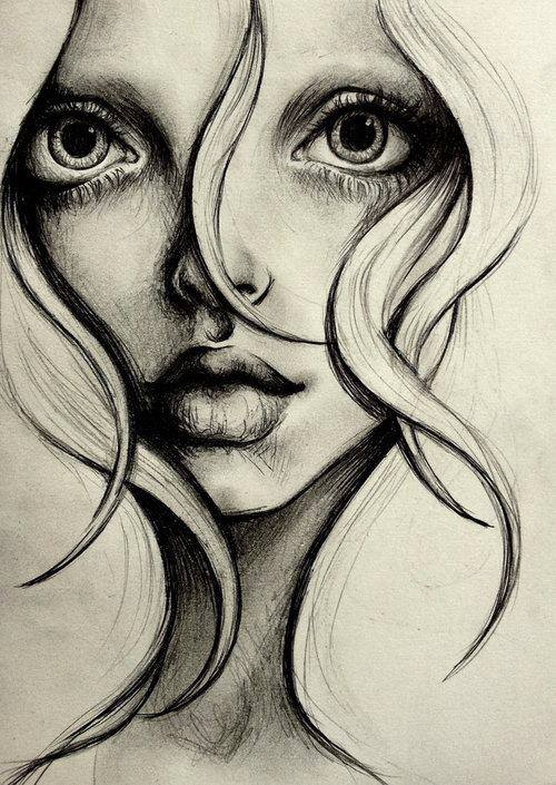 Amazing via facebook image 791793 by alroz on for Amazing drawings of girls