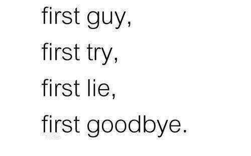 how to break up with first love