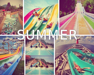 colors, fun, summer, water