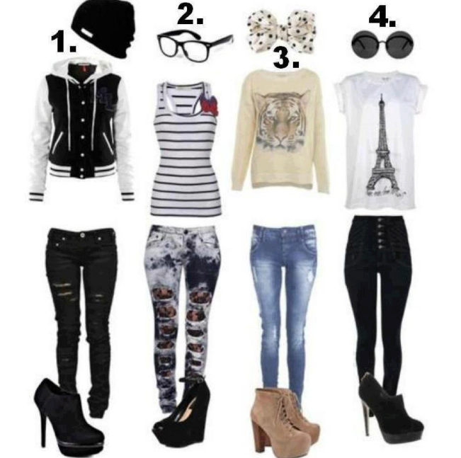 Cute Jeans - Glasses Heels Leggings Nice Outfits T Shirts Dialy Favim