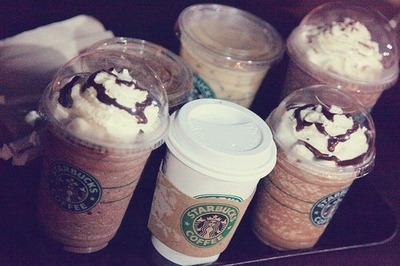 Love nom nom pink starbucks summer tumblr we heart it white