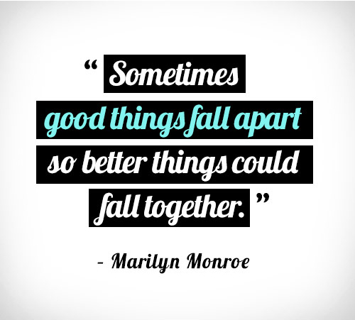 Marilyn Monroe Quotes Better Things Can Fall Together: Marilyn Monroe Quotes Inspirational. QuotesGram