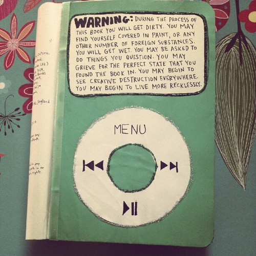 Wreck This Journal Book Cover Ideas : Wreck this journal ideas google søgning image