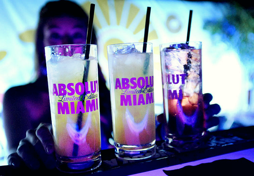 absolut, drunk, Miami, amazing, colors