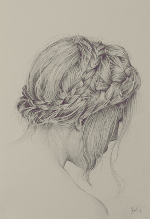 braid, braid hairstyle, drawing, hair, hairstyle