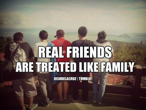 Real Friends Are Treated Like Family Real friends are my fa...