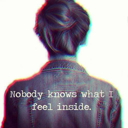girl, sadness, lonely, text, nobody knows