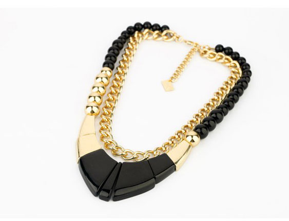 fashion, jewelry, necklace and punk style