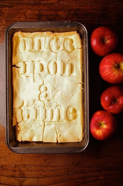 apples, fairytale, once upon a time, pie, story, whimsical