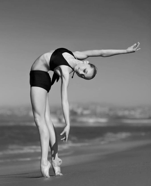 ballerina, ballet, black and white, dance, girl, ∞