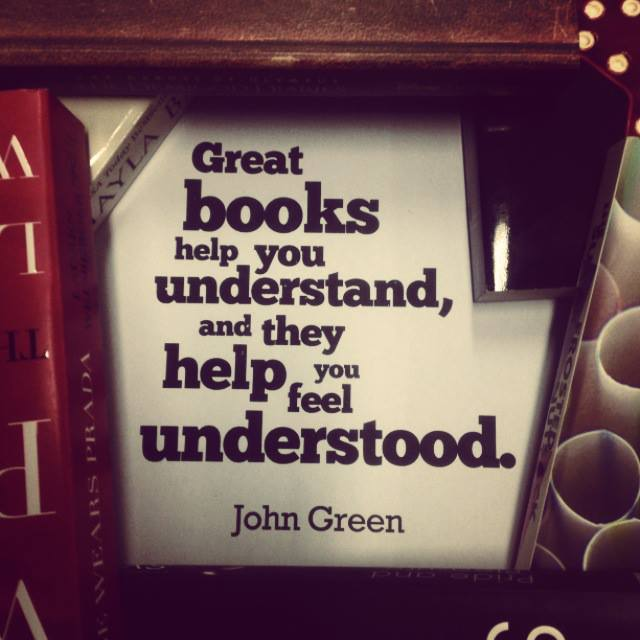 quotes about books john green - photo #15
