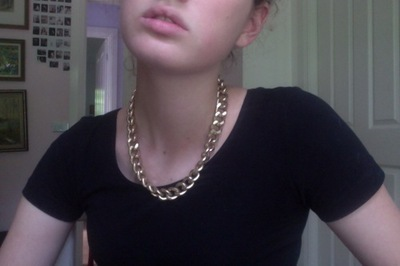 Chanel Chain  Chunky chain necklaces Vintage chanel