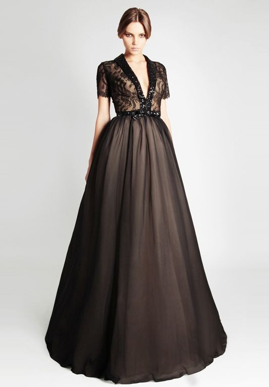 ball gown, black, evening dress and party dress