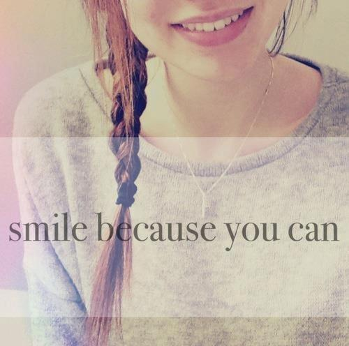 Smile Because Quotes Tumblr: Via Facebook - Image #839704 By