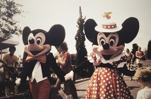 disney, disneyland, mickey mouse, minnie mouse, vintage