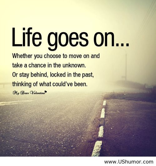 Joke Inspirational Quotes: Life Goes On Motivational US Humor