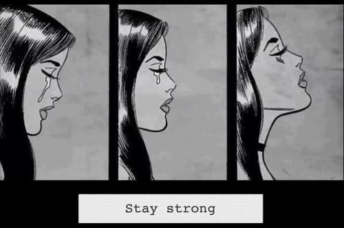 Stay strong girl tumblr