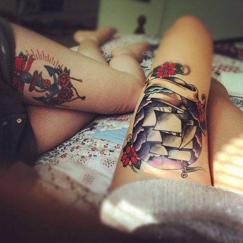 ink,  tattoo,  Tattoos and  hipster