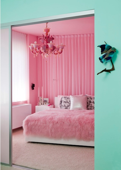 Bedrooms home decor pink bedroom image 852796 by for Barbie schlafzimmer