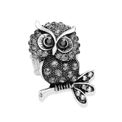 frog rings, owl rings, silver frog rings and statement frog rings