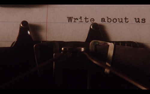 book, life, love, movie, omfg, pyscho, quote, the perks of being a wallflower, type, typemachine, write, writer, yes, steven chbosky, pofaw