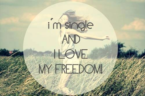 freedom single girls She's the author of confessions of a boy-crazy girl:  i think you have the freedom to remain single or to marry a godly man if you choose the later, .
