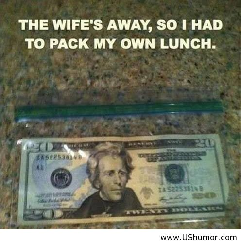 Funny Memes For Wife : When the wife s away us humor funny image by