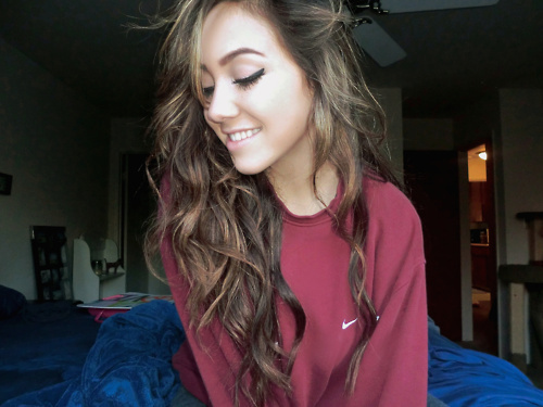 girl with brown hair tumblr google search image