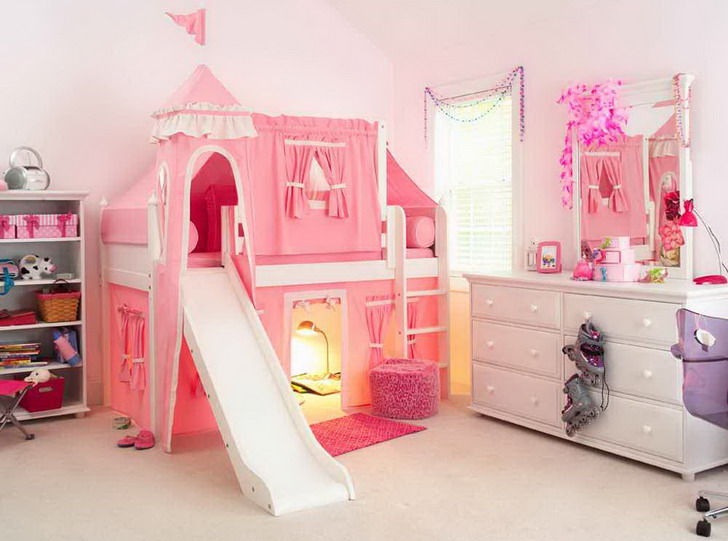 Girls Room Bed Best Little Girls Room Beddysjpg With Girls Room