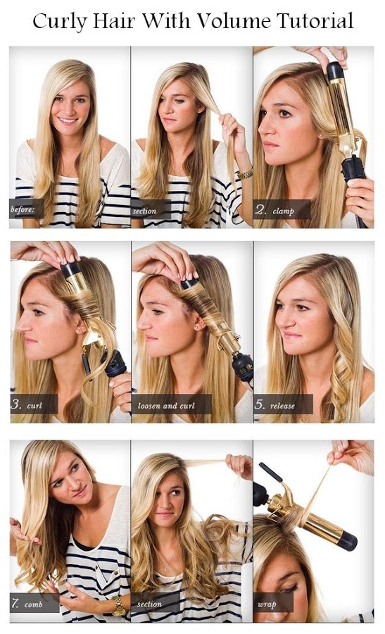 Diy Curly Hair With Volume Hairstyle Diy Fashion Image 869125 By Awesomeguy On
