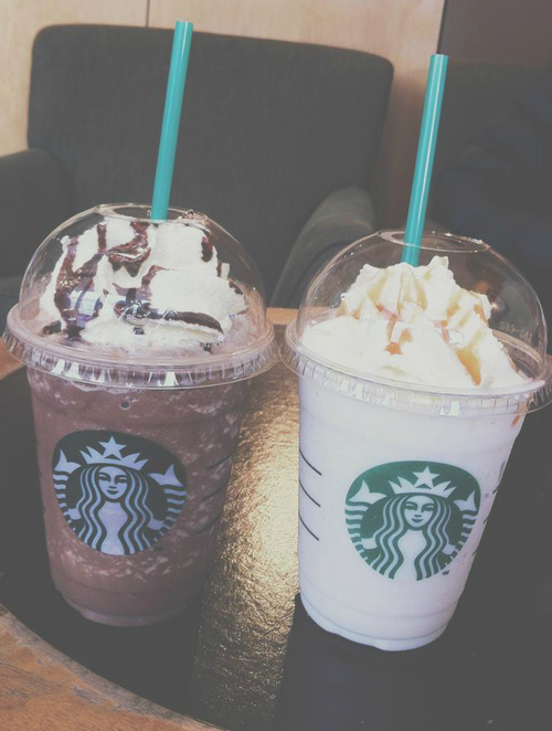 chocolate, cream, drink and frappuccino