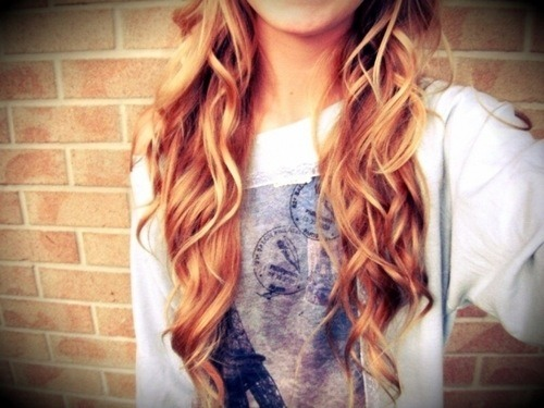 amazing, cool, curly, blonde, color, girl, hair, style, long