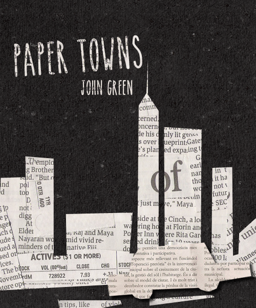 Paper town summary book