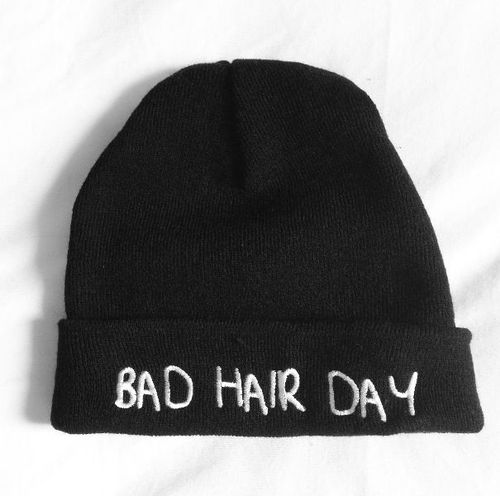 awesome, black and white, photography, bad, bullshit, beanie, cap, cara, pretty, fashion, girl, hair, hat, style, hipster, shit