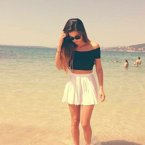 beach || girl | via Tumblr - image #879037 by korshun on ...