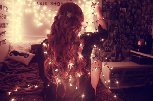 ... , girl, hair, lights, people, perfect, photography, pretty, wavy