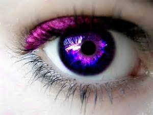 bright purple eyes - Bing Images - image #879441 by ...