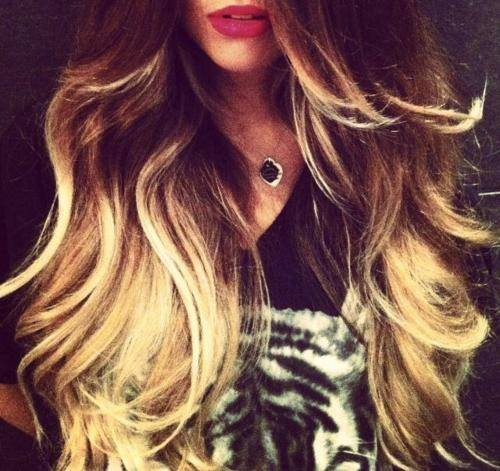one length hairstyles : Ombre Tumblr Hairstyles Images & Pictures - Becuo