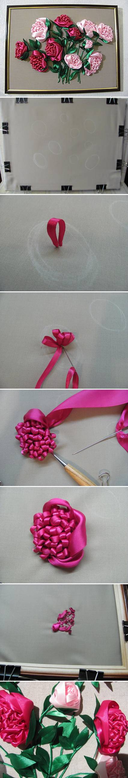 Diy embroidery roses projects usefuldiycom image