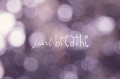 breathe, photography, purple, relax, soft, text